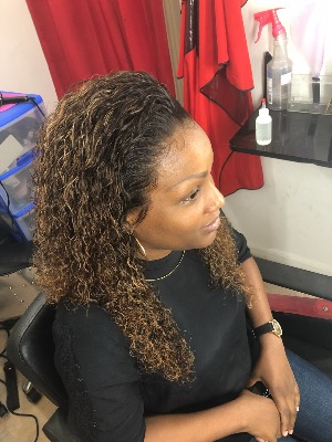 FULL LACE WIG JERRY CURL